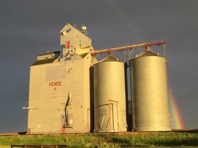 Élévateur à grains de Pense, Saskatchewan