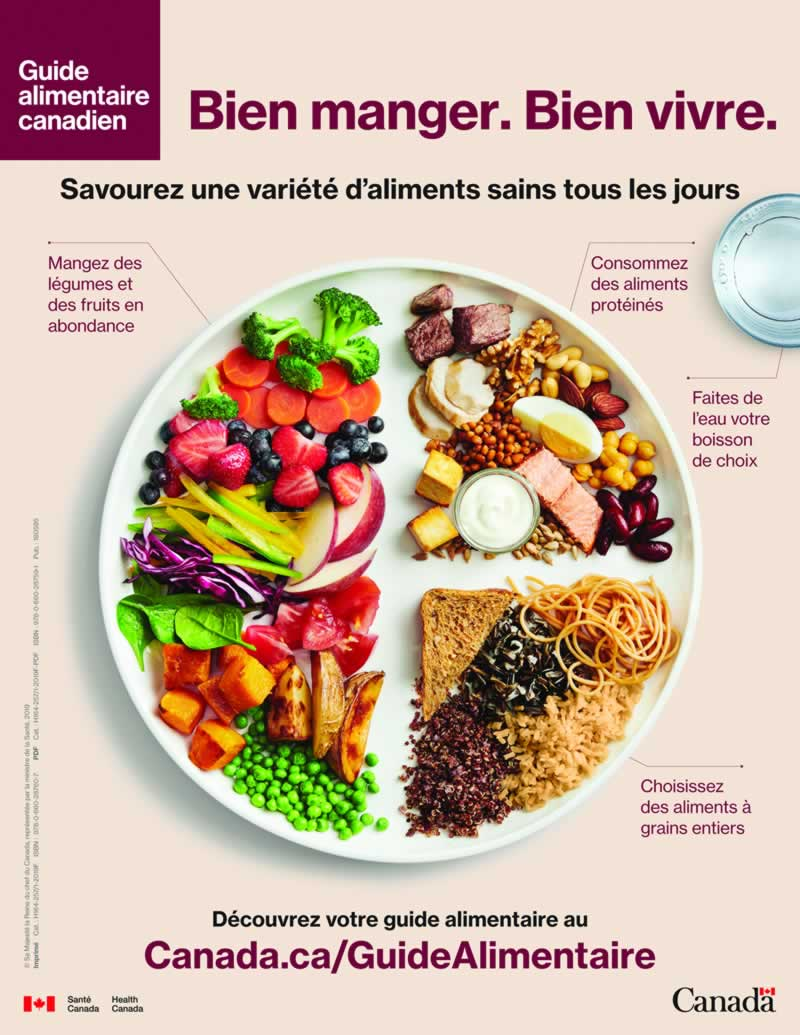 Guide alimentaire canadien en bref
