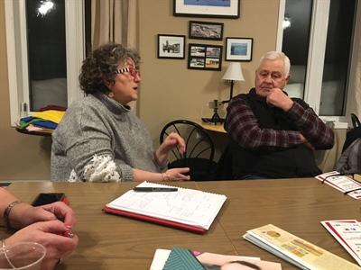 Rencontre à Bellegarde lors de la tournée de consultation du Réseau Santé en français de la Saskatchewan