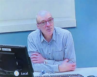 Éric Notebaert, urgentologue et professeur à la Faculté de médecine de l'Université de Montréal.