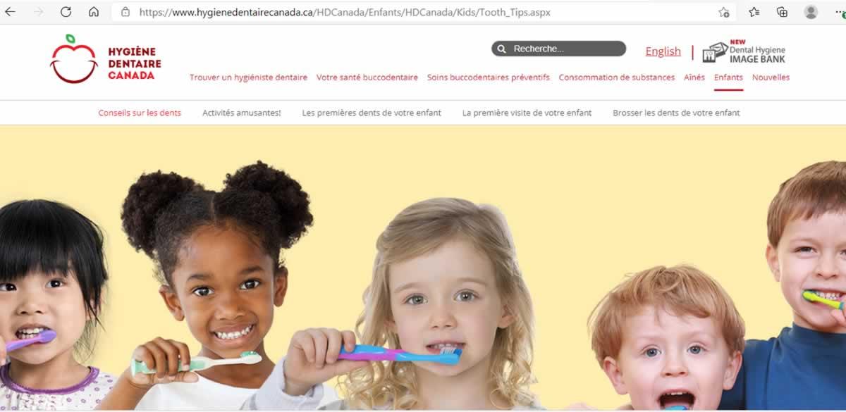 Hygiène dentaire Canada